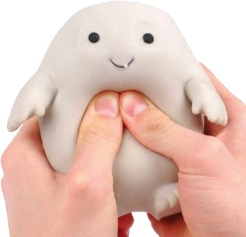 Australia Dr Who - Adipose Stress Toy
