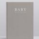 Australia Baby Journal - Birth To Five Years GREY