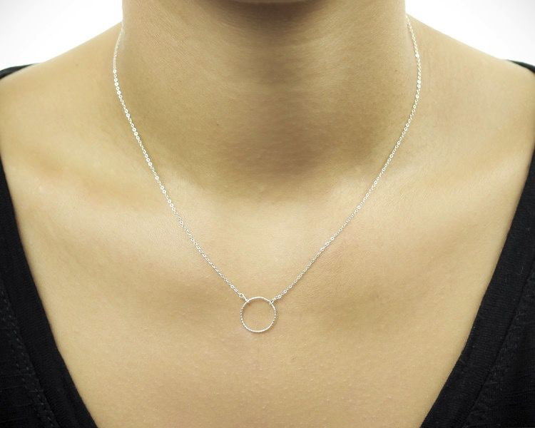 USA Kismet Silver Necklace