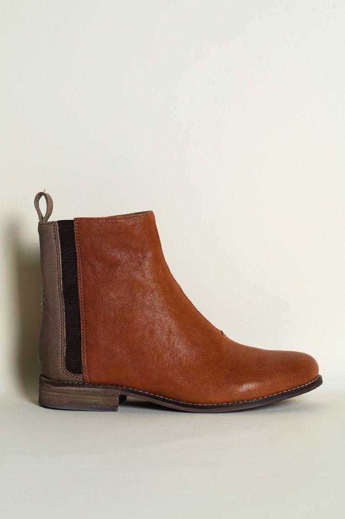 Australia 39 Terracotta/Grey Chelsea Boots
