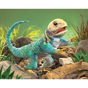 Australia Lizard, Collared Puppet