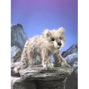 Australia Snow Leopard Cub Puppet
