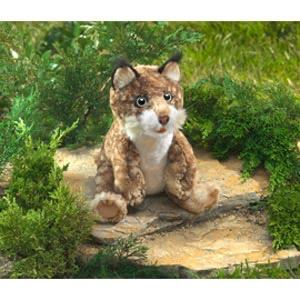 Australia Bobcat Kitten Puppet