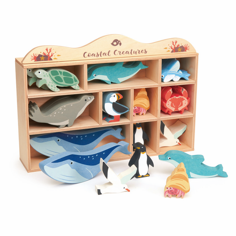 Australia Coastal Animals Wooden Set