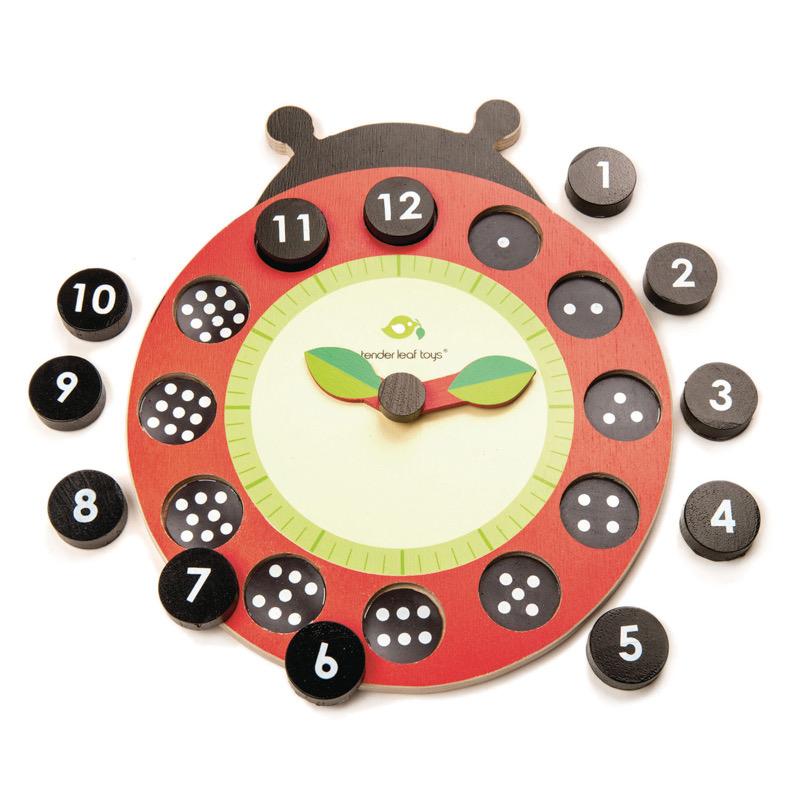 Australia Ladybug Teaching Clock