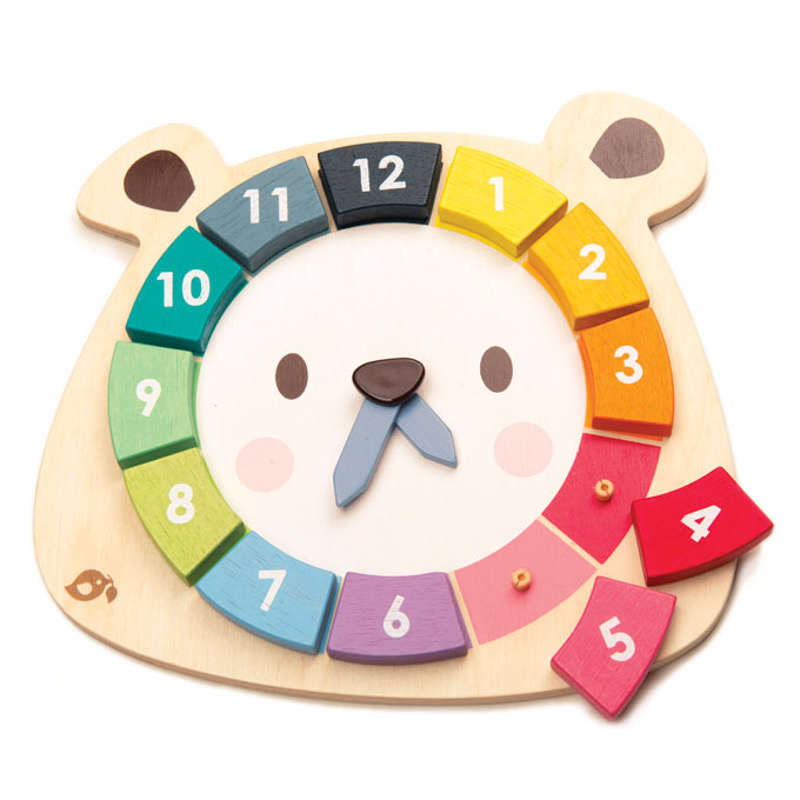Australia Bear Colours Clock