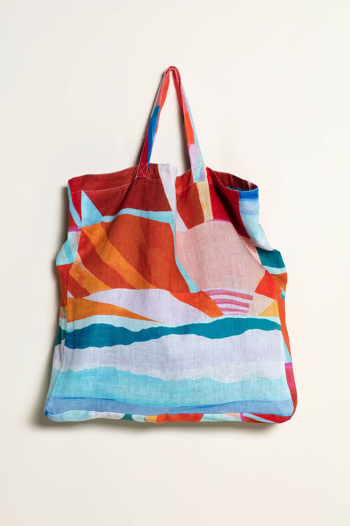 Australia You Yangs Linen Tote Bag - Nancybird
