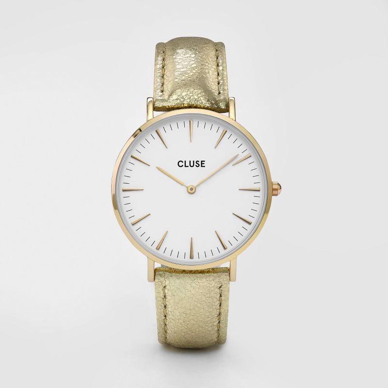 Australia CLUSE La Boheme Gold White/Gold Metallic