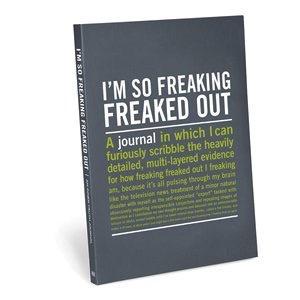 Australia Inner troth Journals - I'm So Freaking Freaked Out