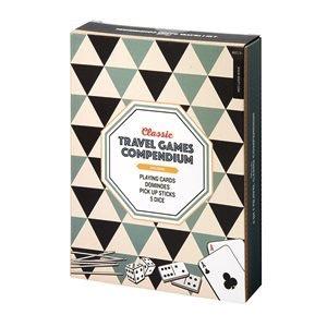 Australia Classic Travel Games Compendium 4 in 1
