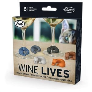 Australia Wine Lives - Kitty Wine Markers