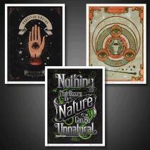 Australia Harry Potter - Fantastic Beast Art Print EACH