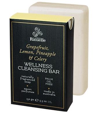 Australia HV 150gm wellness bar grapefruit, lemon, pineapple & celery