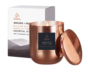 Australia EQ 280gm Soy Candle - Copper Jar