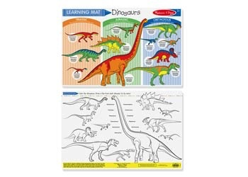 Australia M&D - Dinosaurs Colour-A-Mat
