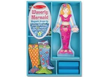 Australia M&D - Waverly Mermaid Magnetic Dress-Up