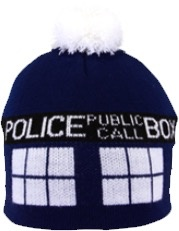 Australia Dr Who - TARDIS Pom Beanie