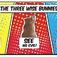 Australia Three wise bunnies - Easter