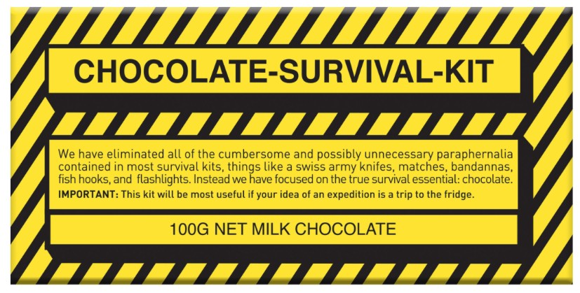 Australia Survival Kit Milk Chocolate