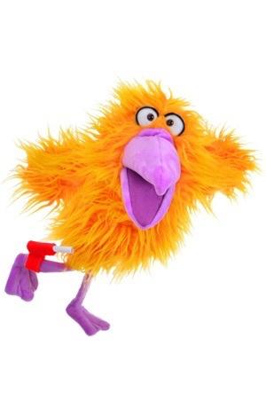 Australia Wish You Bird Mail. Living Puppets