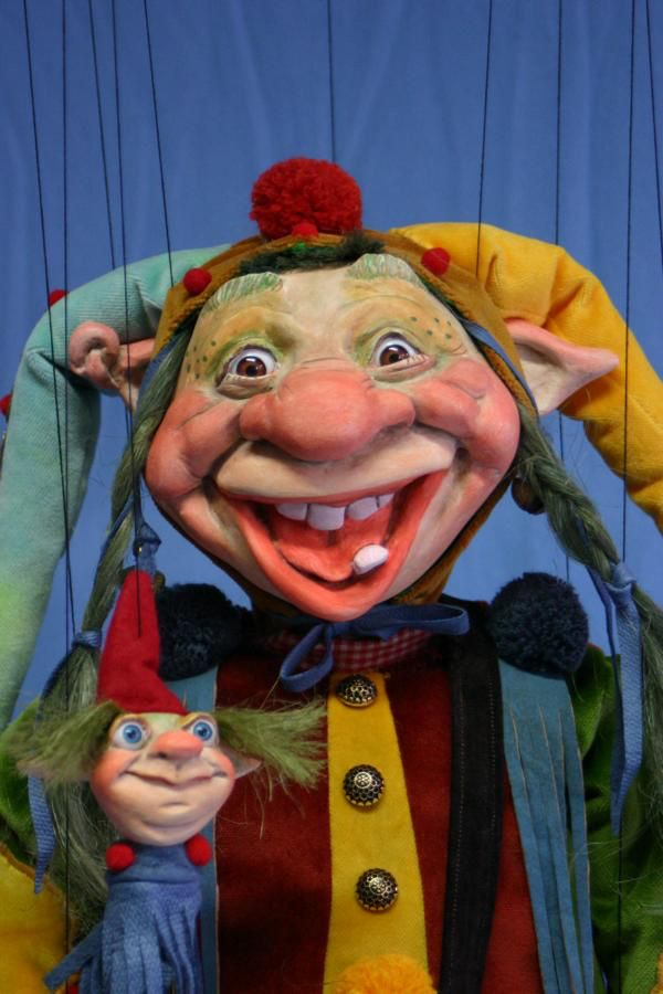 Europe Troll Marionette, made in Germany