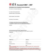 G803-2007 Amendment To The Professional Services Agreement (Pack of 50)
