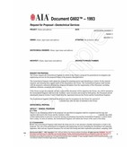 G602–1993, Request for Proposal—Geotechnical Services