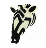 mini Zebra Head