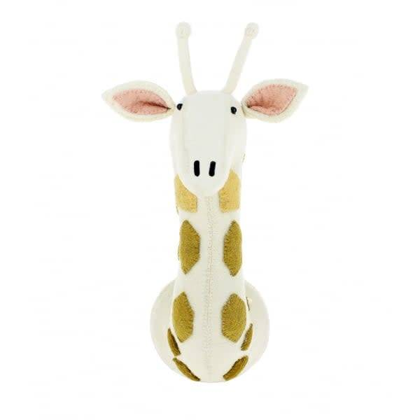 Giraffe Head with Ombre Spots