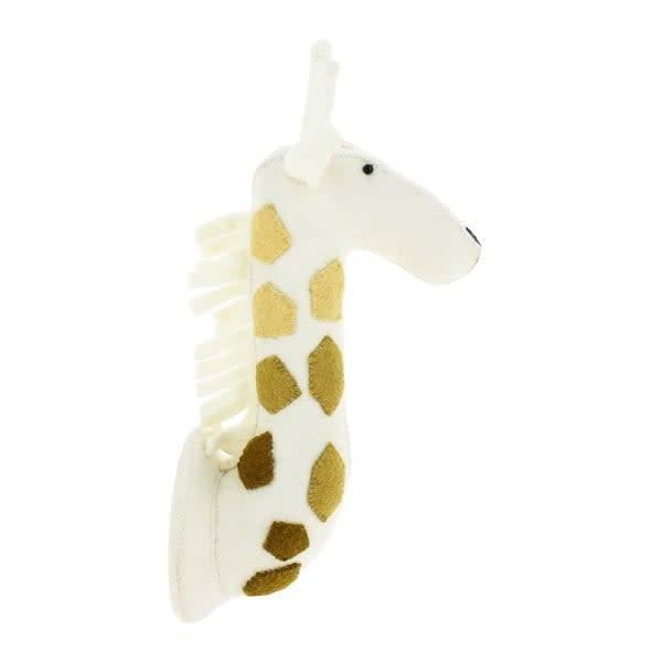 Giraffe Head with Ombre Spots