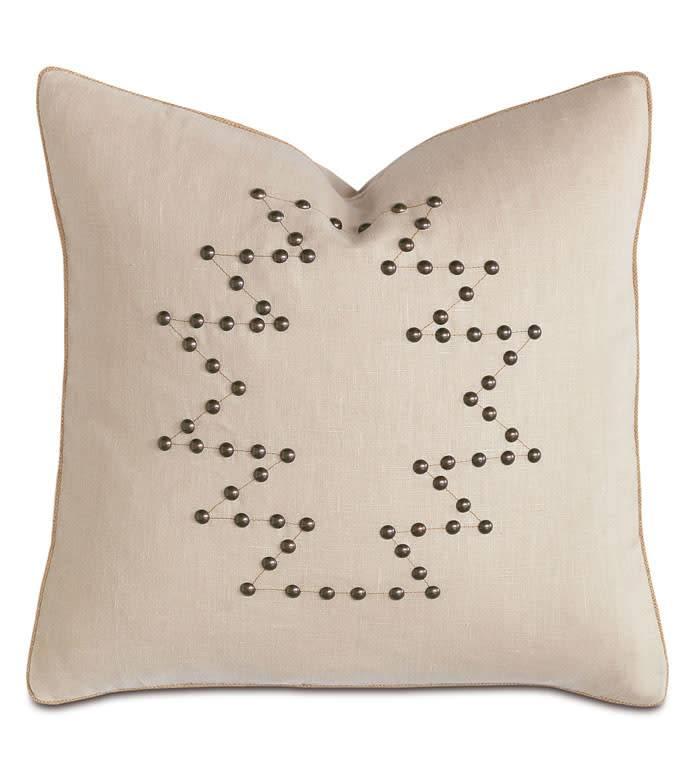 Decorative Pillow-Breeze Bisque 21x21/knife edge/zipper