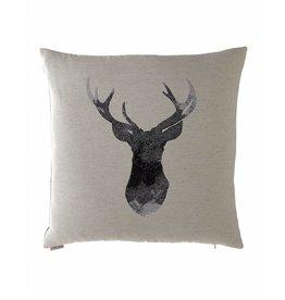 Buckhead Decorative Pillow 24x24 Flax
