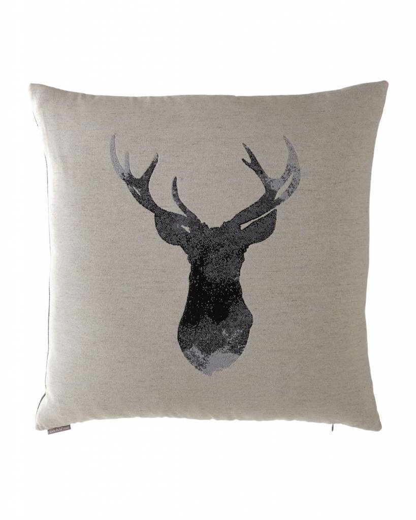 Buckhead Decorative Pillow 24x24 Flax