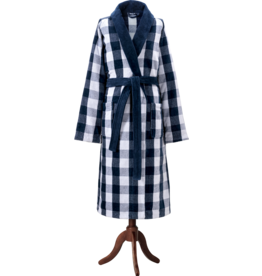 Hastens Hastens Blue Check Robe