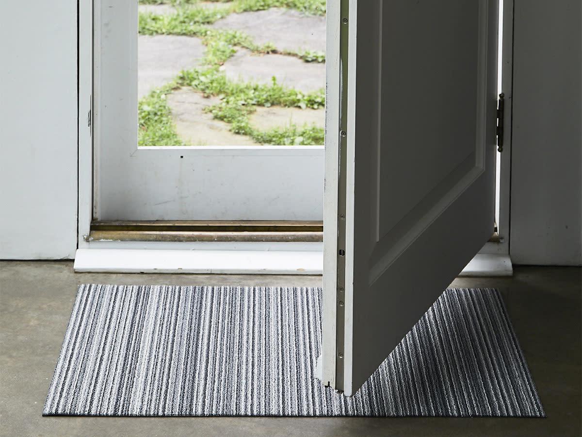 Chilewich Skinny Stripe Shag  Indoor/Outdoor Rug