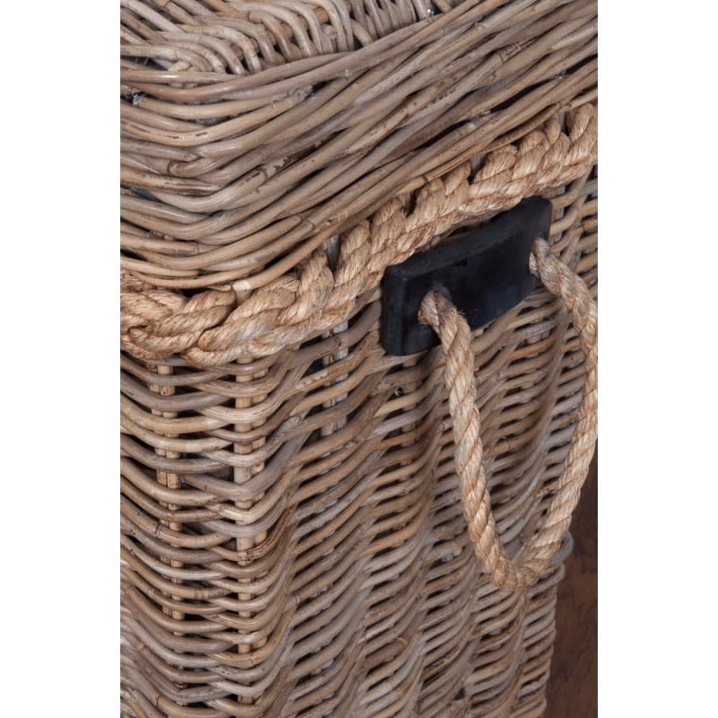 jeffan Sabrina Console/Blanket Basket-Lg 55x16x30