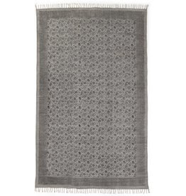 Four Hands Flatweave Faded Print Rug