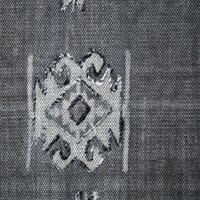Four Hands Tribal Faded Black Rug