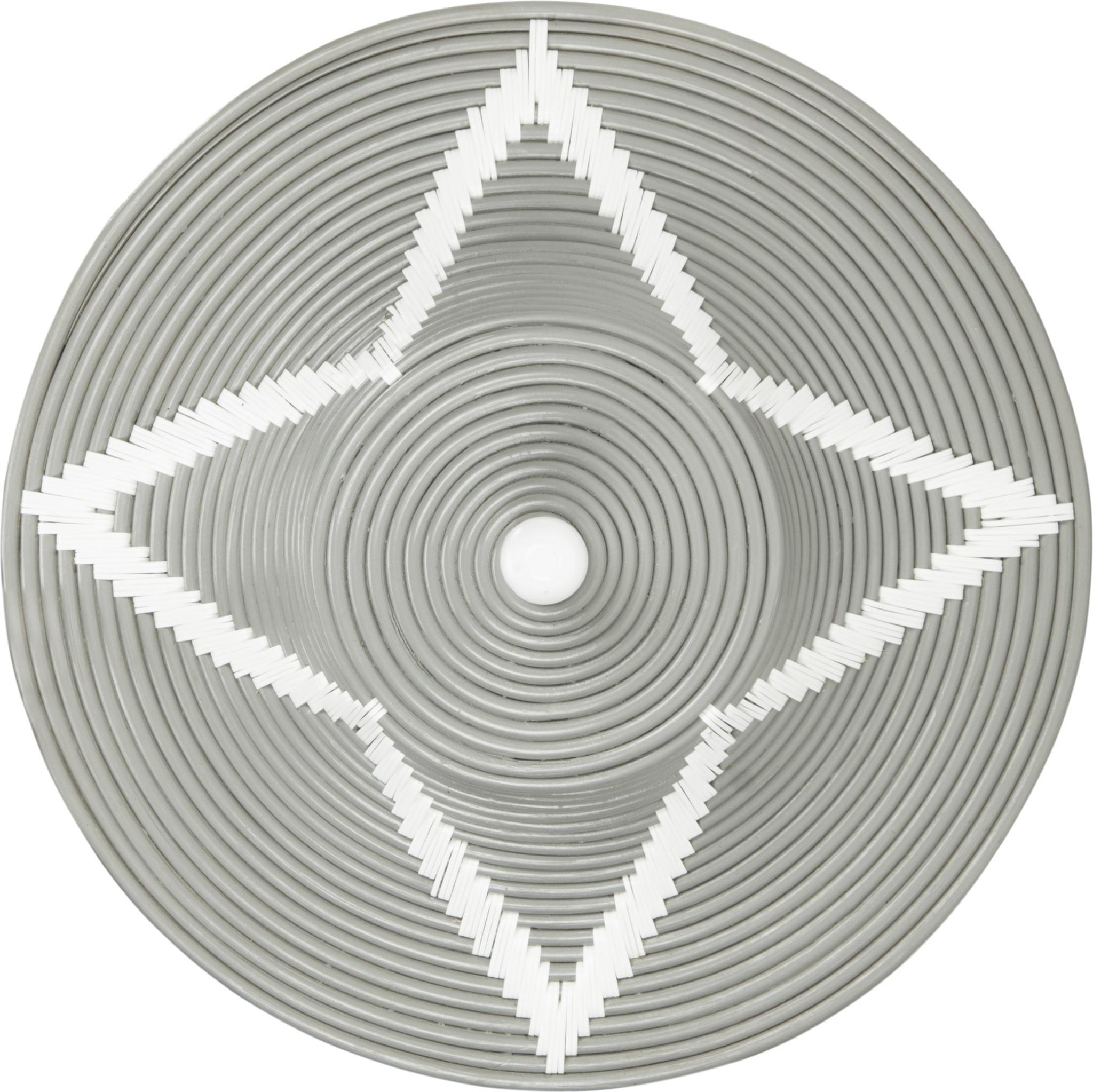 Reina Storage Hamper-Grey & White