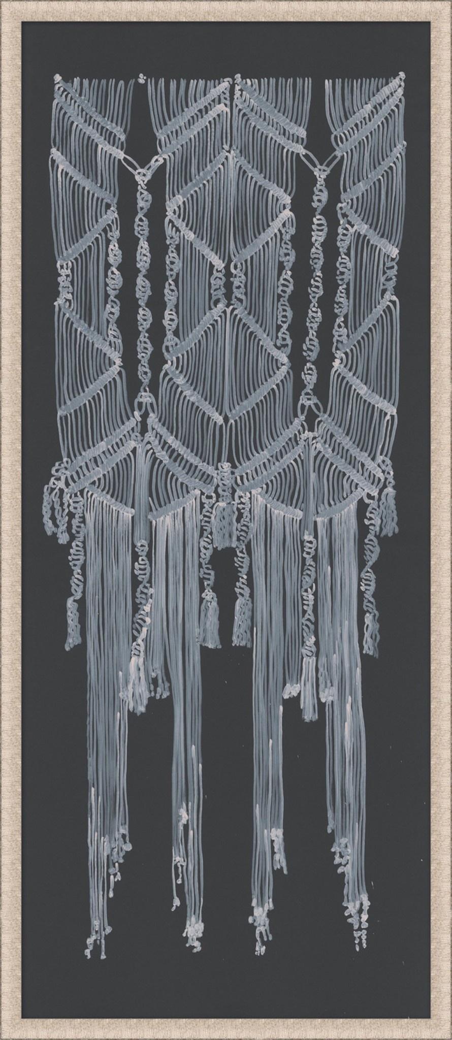 Wendover Art Group Macrame on Grey 4