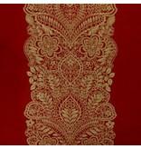 TL at Home Decorative Pillow-Santaita Red 12 X 25