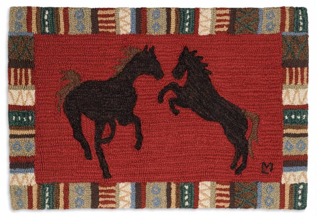 Cinnamon Horses Rug