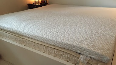 "Mattress Topper 2.5"" Gel Memory foam"