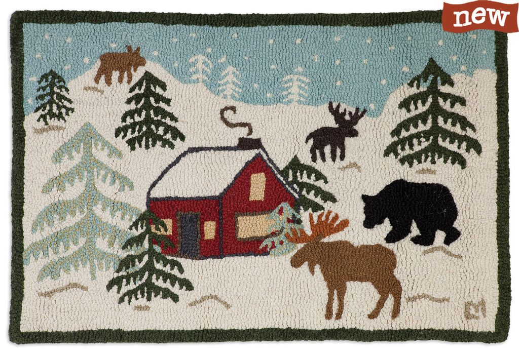 Wilderness Cabin Rug-2x3