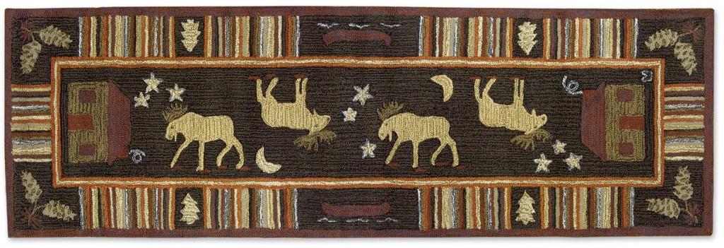 Night Moose Rug