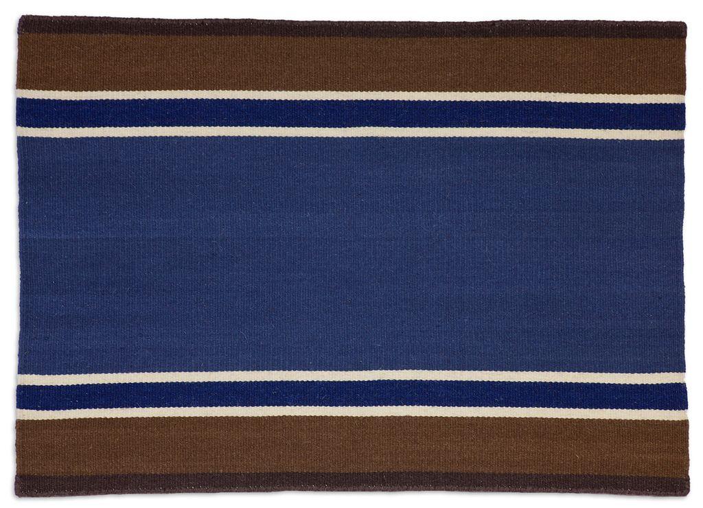 Western Red or Blue Rug Flatweave