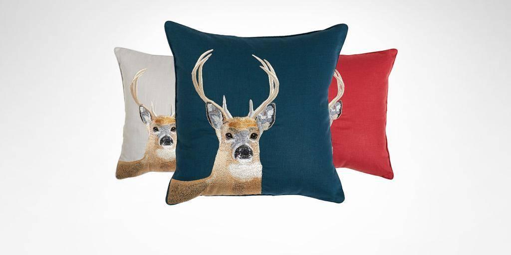 Yves Delorme IOSIS Decorative Pillow Haut-Bois