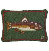 "Brown Trout 14"" x 20"" Pillow"
