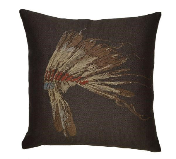 Chief Decorative Pillow 24x24