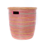 Sunrise Stripes-Flat lid Storage Basket